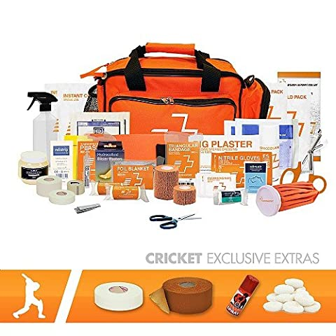Firstaid4sport Cricket First Aid Kit Advanced
