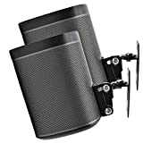 2 x SONOS Play 1 Support Mural, Twin Pack, (Non Compatible avec SONOS One) pivotant...