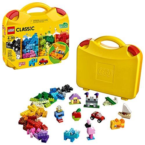 LEGO Kit Creativo clásica Maleta 10713 Edificio (213 Piezas)