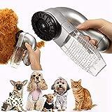 Zooarts Fellpflege für Haustierhaare, Fellentferner für Katzen und Hunde, Fellpflege, Kamm, Staubsauger