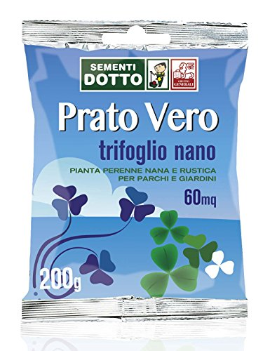 Sdd 40030440 Prato Trifoglio Nano, Verde, 12x20x2 cm