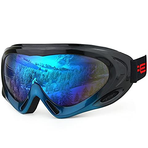 Magic Zone OTG Ski Goggles Over Glasses Ski Snowboard Goggles