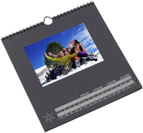 Your Design Foto-Kalender: Foto-Bastelkalender, schwarz, 23 x 24 cm (DIY-Kalender)