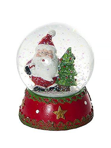 Boule à neige décorative Père Noël