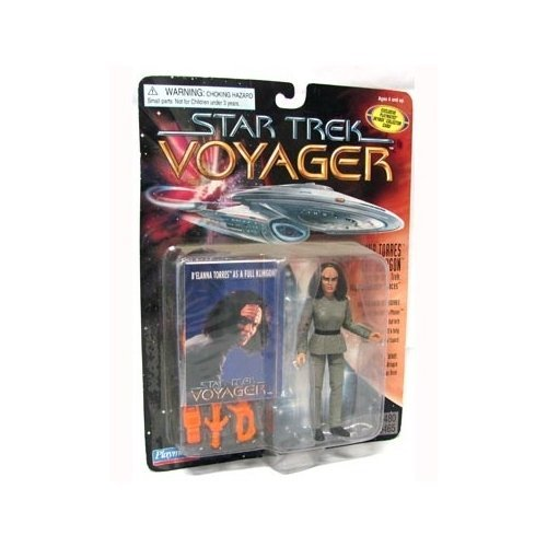 Star Trek Voyager B Elanna Torres - The Klingon 4 inch Action Figure