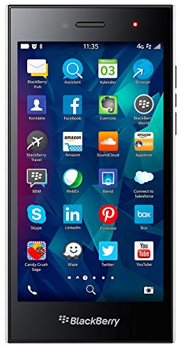 BlackBerry Leap  Smartphone ( 12,7 cm (5 Zoll) Touchscreen, 8 Megapixel Kamera, 16GB Speicher, 10.3.1 BlackBerry Blend) weiß