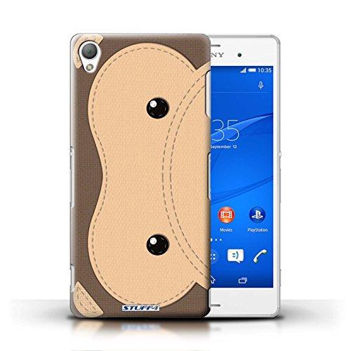 Kobalt® Imprimé Etui / Coque pour Sony Xperia Z3 / Tigre conception / Série Cousu des Animaux Effet Singe