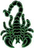 Skorpion Backpatch Rückenaufnäher Biker Weste Kleidung Kutte Scorpion ca. 20 x 28 cm