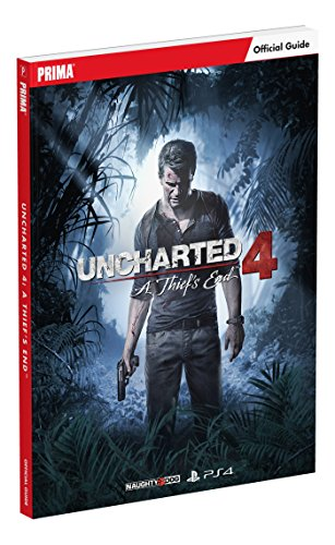 Uncharted 4: A Thief's End Standard Edition Strategy Guide