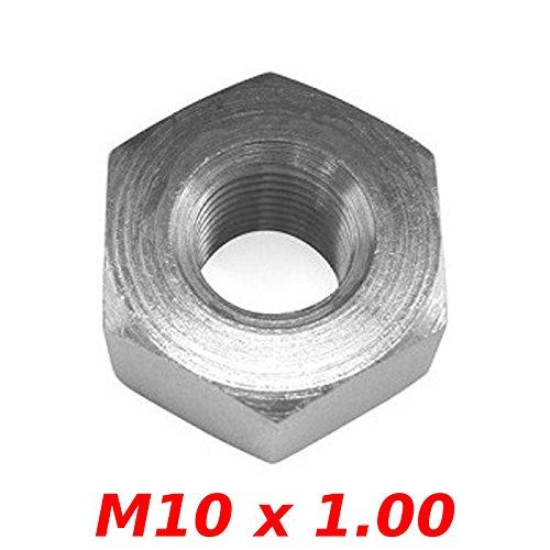 1x ECROU MOYEU CYCLOMOTEUR M10 x 1.00 HEXAGONAL PEUGEOT 103 ROUE AXE CYCLOMOTEUR
