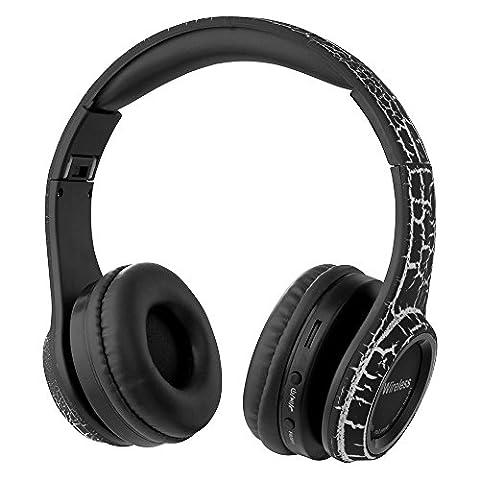 XCSOURCE® MS-BT Kabellos Bluetooth Kopfhörer mit Eingebautes Mikrophon Unterstützungs TF
