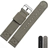 NESUN Unisex Nylon Watch Band Suitable For Rolex-Submariner/Citizen/Tissot Wirstwatch