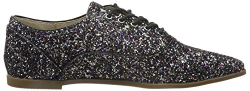 Buffalo London Damen 15p68-1 Glitter Derby Mehrfarbig (MULTICOLOR 01)