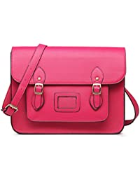 Amazon.co.uk: Pink - Satchels / Women's Handbags: Shoes & Bags