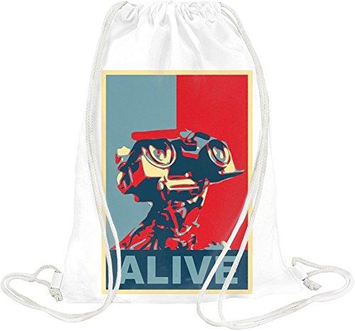 Star Wars Johnny Robot Alive Drawstring bag