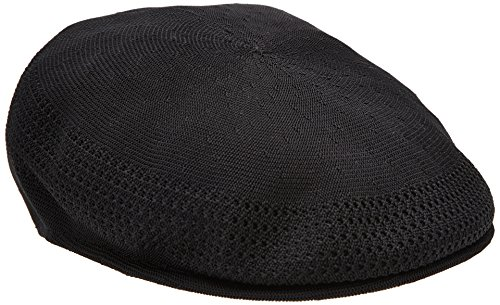 Kangol Herren Tropic Ventair 504 Schirmmütze, Schwarz, Medium -