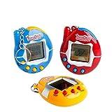 Asremit Giocattoli per bambini Videogiochi Giochi di giocattoli elettronici Portachiavi portatile Giochi con macchine elettroniche per animali domestici * 1