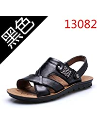 xing lin homme Sandales d'été Tongs pour homme Angleterre Clip Sandales NEUF antidérapant Sandales Cool Trend 40Blanc