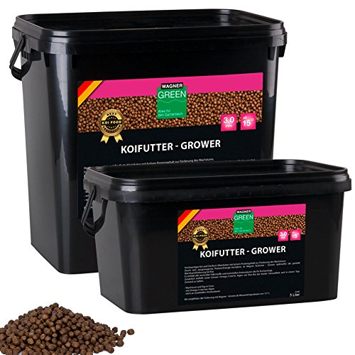 Wagner Koifutter Grower 3 mm (5 Liter)
