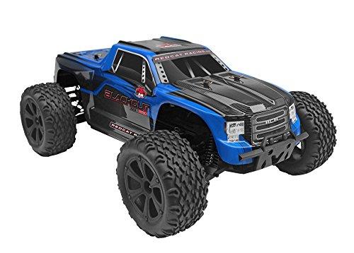 Redcat Blackout XTE PRO Blau Brushless 1:10 RC Modellauto Elektro Monstertruck Allradantrieb (4WD) RTR 2,4 GHz