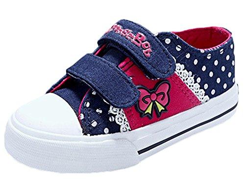 Scothen Baby Kinder Sneakers Laufen Schuhe Mädchen Sneaker Sportschuhe Sneakers Mädchen Low-Top Sneakers Hallenschuhe Laufschuhe Outdoor Basketball Schuhe