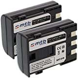 2x Batteria NB-2L per Canon EOS 350D, EOS 400D, EOS Digital Rebel Xti/Powershot.vedi lista!