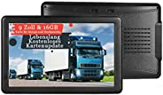 GPS Navigation für Auto, Aonerex 9 Zoll Touchscreen Navigationsgerät für LKW PKW KFZ 16GB 256MB Navi mit POI B
