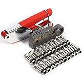 Bild des Produktes 'Cocoarm Kompressionszange Set Stecker Werkzeug Koax-Kabel Stripper RG58 RG59 RG6 Crimper Koaxialkabel mit 20 stück '