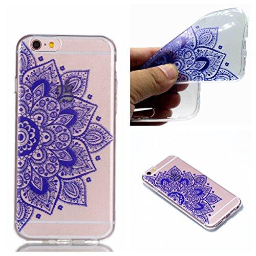 Coque Pour iPhone 6/6s, HLZDH mignon Premium Gel TPU Souple Silicone Transparent Clair Bumper Protection Housse Arrière Étui Pour iPhone 6/6s + Stylus image-1