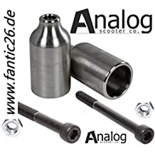 Analog Scooter Pegs Mark II Acero Inoxidable V2A Solid–Scooter Stunt Pegs
