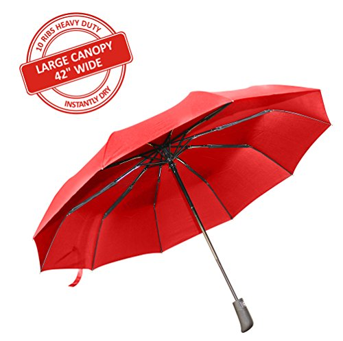 sevitti-travel-automatic-umbrella-premium-quality-10-rib-106-cm-wide-durable-and-windproof-red-color