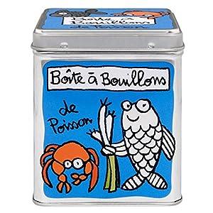 Derrière La Porte - Boîte à Cubes Bouillons de Poisson - bleu