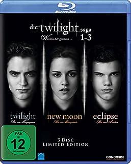 Die Twilight Saga 1-3 - Was bis(s)her geschah... [Blu-ray] [Limited Edition] (B0068YNI4C) | Amazon price tracker / tracking, Amazon price history charts, Amazon price watches, Amazon price drop alerts