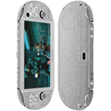 Skinomi Brushed Aluminum Full Body+Screen Protector for Sony PS Vita PCH-2000