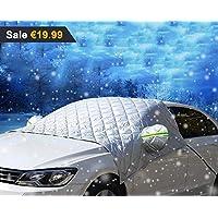 Hagel // 3 Magnete f/ür BMW sicherste Befestigung und einfachste Installation wasserdicht Unbekannt YIKA Magnetische Auto-Windschutzscheibenabdeckung f/ür EIS und Schnee