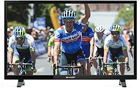 Sharp LC-32CHE4040E 81 cm ( (32 Zoll Display),LCD-Fernseher,100 Hz (Sharp Aquos)