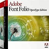 Font Folio Open Type 1.0 10-Pack [Import] -