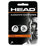 HEAD Djokovic Dampener-Tennisbälle (weiß)