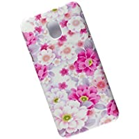 Slim Case for Samsung Galaxy J7 (2017), J730, Pro, Duos. Tasche Cover. Wild Roses.