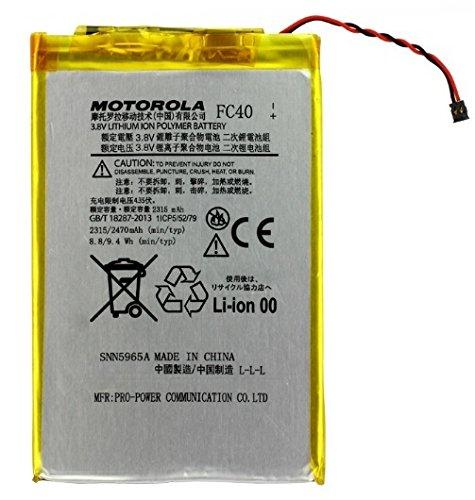Batteria Original Motorola Moto G 3rd Gen, 2015, XT1540). FC40