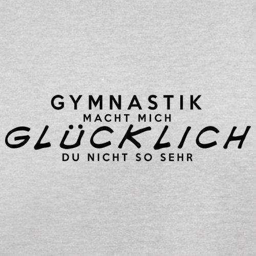 Gymnastik macht mich glücklich Herren TShirt 13 Farben Hellgrau ...