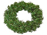 Riffelmacher Tannenkranz 19010-30cm - Adventskranz zum selber schmücken Weihnachten Adventszeit