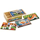 Melissa & Doug - 13790 - Pets Puzzles in a Box