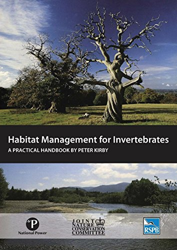 Habitat Management for Invertebrates: A Practical Handbook por Peter Kirby