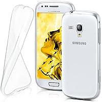 Samsung Galaxy S3 Mini Hülle Silikon Transparent Klar [OneFlow Clear Back-Cover] TPU Schutzhülle Dünn Handyhülle für Samsung Galaxy S3 Mini S III Case Ultra-Slim Silikonhülle Rückseite