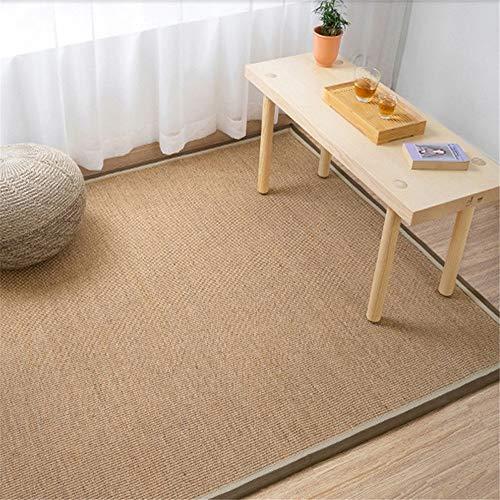 Puerta de entrada alfombras para no Slip Nature Sisal Hemp Carpet Dormitorio / sala de estar Pasillo...