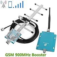 Proutone Mini 900MHz gsm teléfono móvil señal de Refuerzo la señal de gsm repetidor + Yagi Antena con Cable de 10m
