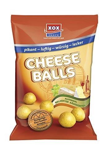 XOX Cheeseballs, 5er Pack (5 x 150 g) (Mais-chips Natürlichen Alle)