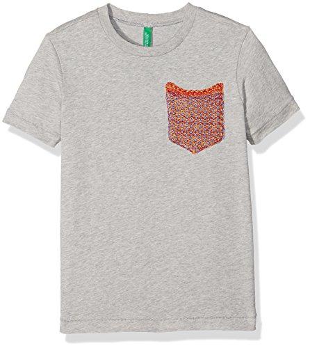 united-colors-of-benetton-jungen-t-shirt-3u1lc12wh-grau-light-grey-6-7-jahre-herstellergrosse-s