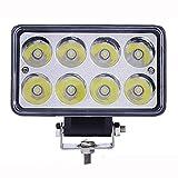 ZHAS Luces de trabajo de led de 24W de los faros de los coches Coches Alquiler de proyectores de luces de trabajo de mantenimiento